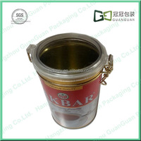 Food container empty tin can Coffee tea box