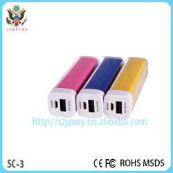 dual usb cell phone laptop power bank with lithium-ion battery 18650 power case