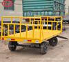 flatbed trailer airport cargo trailer