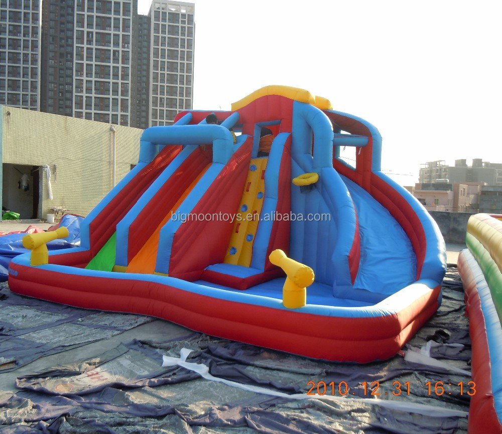 Inflatable Water Slides For Sale: 2015 Hot Banzai Inflatable Water Slide,Inflatable Water