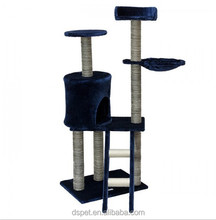Dspet wholesale Cat Tree Tower Condo Climing Scratcher Scratch Furniture Kitten House Hammock Scratching Sisal Post pet products
