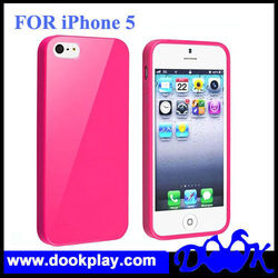 Rubber Skin Case for iPhone 5,TPU Case for iPhone 5