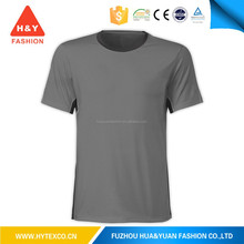 2015 hot sale fashion custom made men's blank grey wholesale t-shirt for tall men-7 years alibaba experience