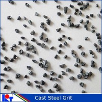 ship hull and container blast cleaning abrasives cast steel grit G18