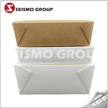 Different Designs Custom Fast Food Packaging Paper Noodle Box