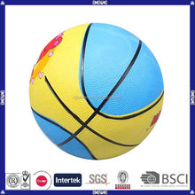 2014 wholesale promotional cute colorful pro mini cheap kids basketball set