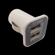 Hot dual usb car charger 2.1A vehicle charger adapter with 2 port usb car battery charger for iphone/ipad tablet PC