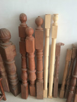Top Wood spindles banister