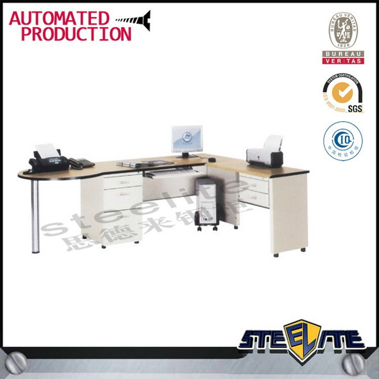 shape office table manager office table design modern office desk