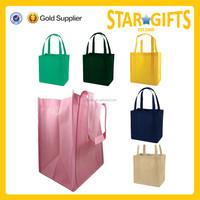 Wholesale reusable non-woven shopping bag foldable shopping bag