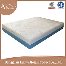 bonnel spring Tight top foam mattress with quilted bamboo cover ten year warranty