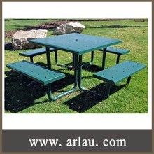 (TB-026) Outdoor Steel Metal Bar Table and Chairs