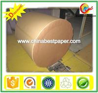White uncoated Woodfree offset paper 58g ISO 92% brightness