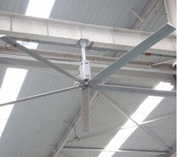 1500w high winds low RPM industrial warehouse ceiling fans