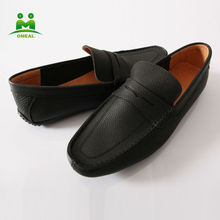 Hot sale high quality fashion men cowskin loafer OEM