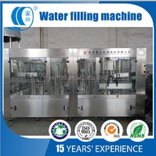Automatic Pure Water Washing Filling Capping Machine In One Set