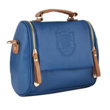 2014 Top selling Cross Body British Style Crown Shoulder Bag Leather Messenger Bag 18059