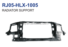 auto parts steel radiator support for toyota hilux vigo 04 1