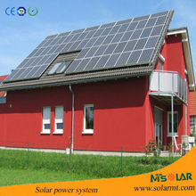 High efficiency solar panel system with low price and all certificate