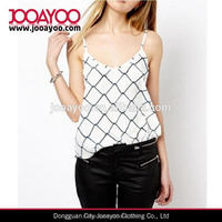 Wholesale summer Good quality crazy selling women burnout tank top