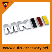 MKIII auto emblems and badges for sale
