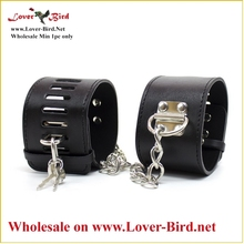 Separable Wrist & Ankle Restraints Heavy Stainless Steel Bondage Gear Instruments