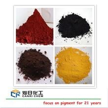 On sale iron oxide fe2o3 pricefor colored asphalt/concruction wall/road bricks dyestuffs