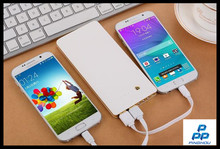 Popular online shopping 12000mah portable power bank fast charging with dual usb ports