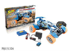 Big rc racing car with crazed speed assemble by yourself