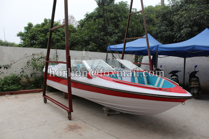 8 persons small fiber reinforced plastic fishing boat for for Small plastic fishing boats