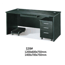 Easy assembly business furniture office table black