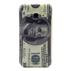 100 US Dollars Bill tpu phone case for samsung galaxy J1 Retro tpu case
