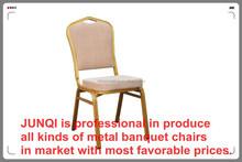Cheap hotel and restaurant iron Banquet Chair (JQ-001C)