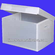 Archival Methods Flip-Top Coroplast Record Storage Box