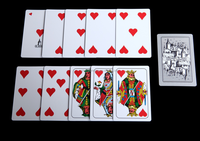 GENOVESI 100% Plastic playing cards , Top quality , super waterproof and excellent elastic playing cards