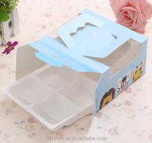 china Birthday cake box west cupcakes food packaging box