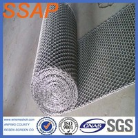 304,310S,316,316L ss/stainless steel chain wire conveyor belt mesh