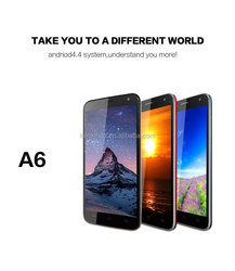 "Kenxinda 5.0"" A6 MTK6582 very cheap mobile phone in china"