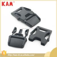 Custom plastic side release 25 mm strap buckle for bag