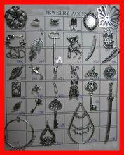 alloy key chain pendant alloy flower pendant zinc alloy leaf pendants