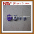 2013 fashion metal snap buttons for jeans