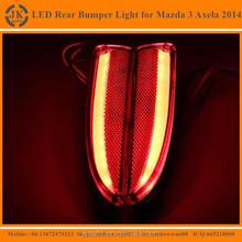 New Arrival Multifunction LED Rear Bump Reflector Light for Mazda 3 Axela High Quality Rear Bumper Light for Mazda 3 Axela 2014