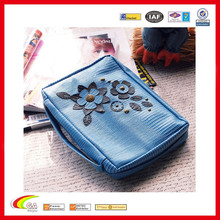 blue tile design bible book cover, pu leather 32k bible bag/cover
