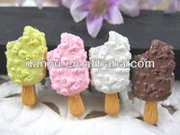Resin food/flat back resin cakes for phone home decoration
