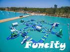 O mais popular parque aquático inflável, equipamento de jogo de água, jogos de água parque para as vendas