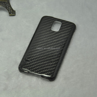 High Quality 0.68mm 100% Real Carbon Fiber Phone Case for Samsung Galaxy S5