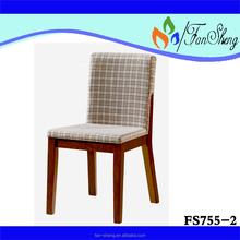 Precio de fábrica FANSHENG goma silla de comedor de madera específica uso muebles de comedor