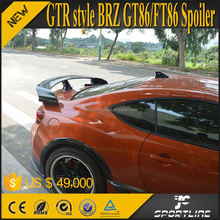 GTR Style FT86 Carbon Trunk Wing For Toyota 86 Scion FRS GT86 FT86 /for Subaru BRZ