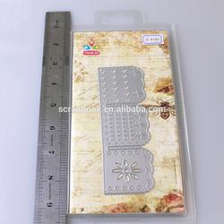 Low price die cutting DIY crafts cutting die stencil 2015 hangzhou china yiwu hot whole