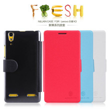 NILLKIN Fresh Series Leather Case magnetic flip cover for Lenovo A6000/A6000+/A6000 plus